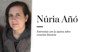 La escritora Núria Añó
