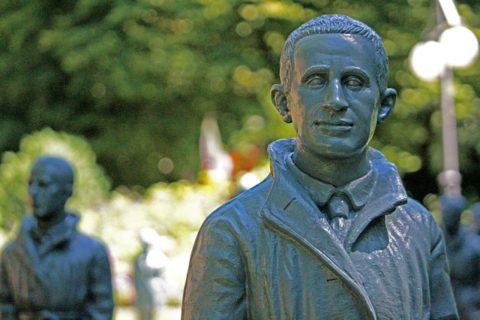 Bertolt Brecht and other exiled artistas