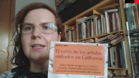 Núria Añó presenta El salón de los artistas exiliados en California