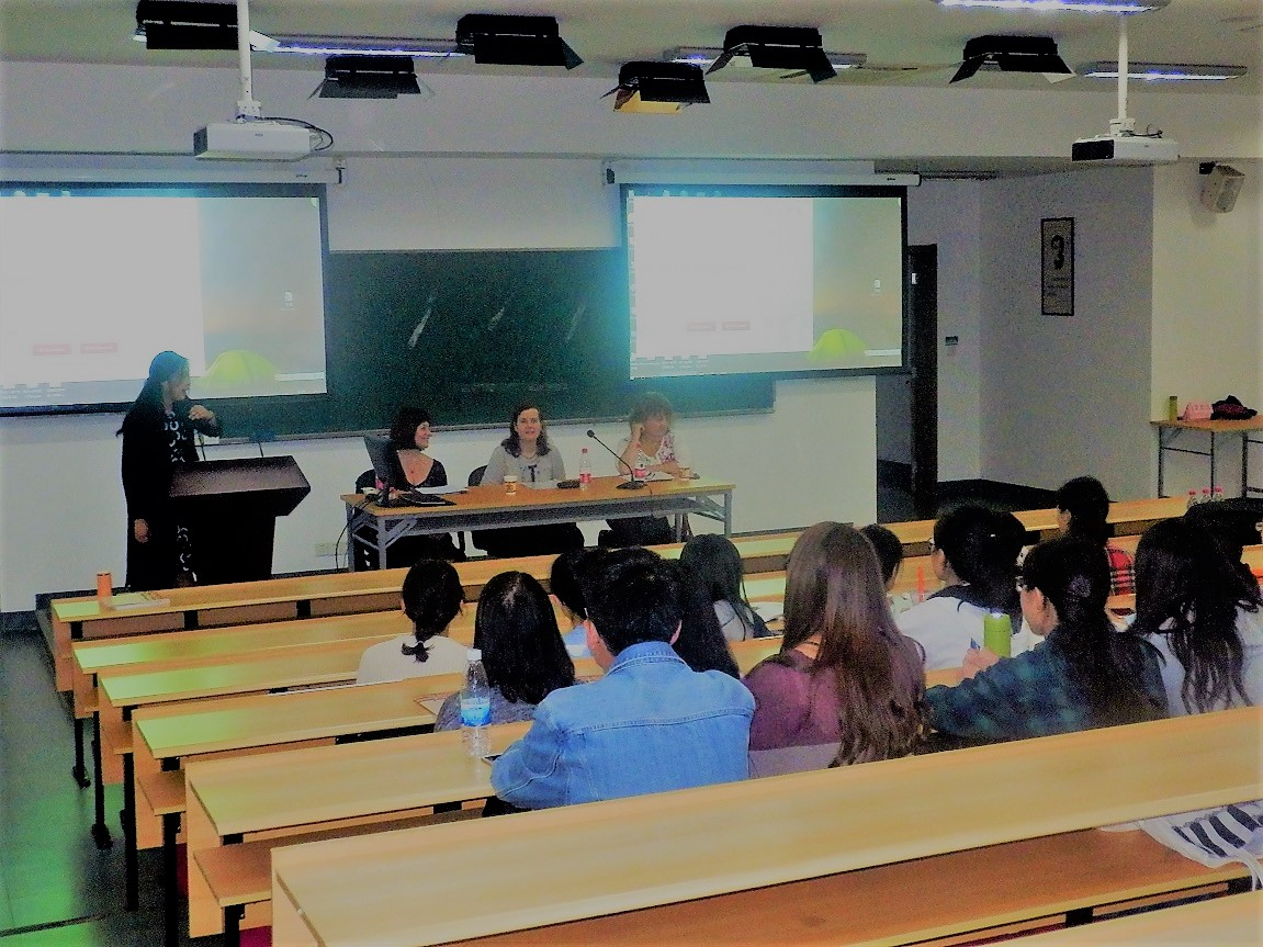 International writers at East China Normal University