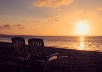 sunset beach chairs